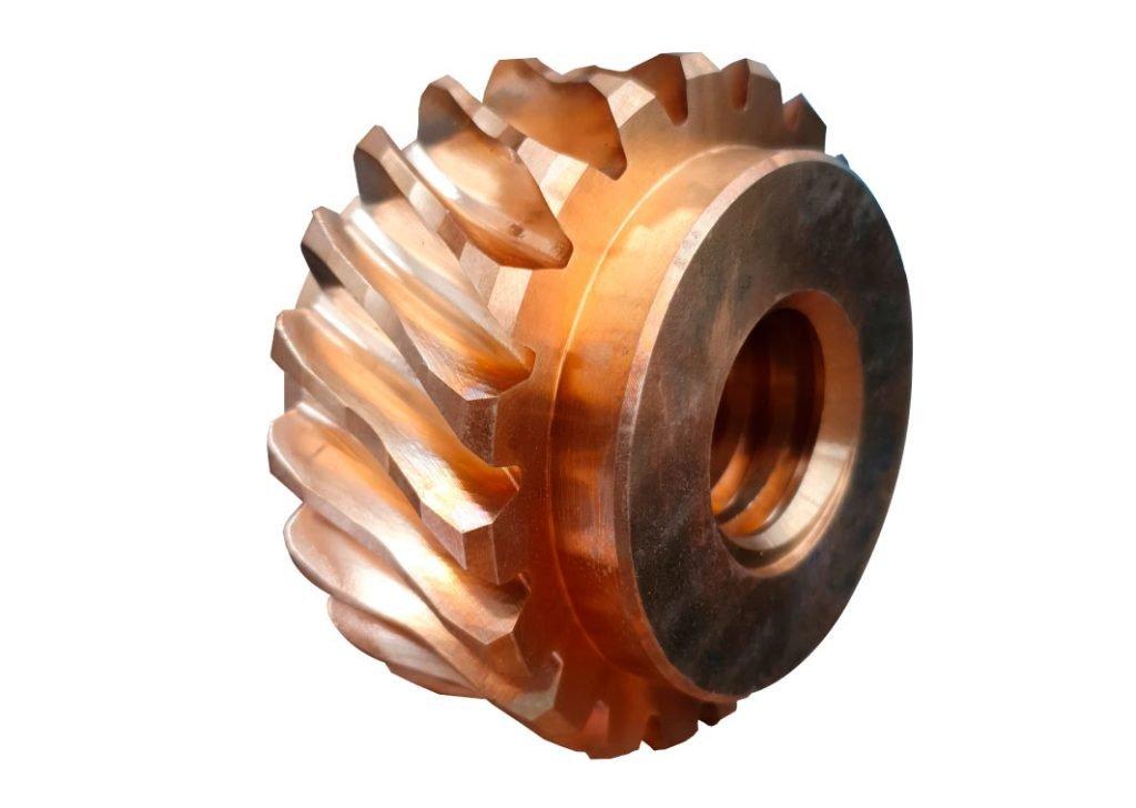 Corona intera in bronzo GB-CU SN12 DIN 17656